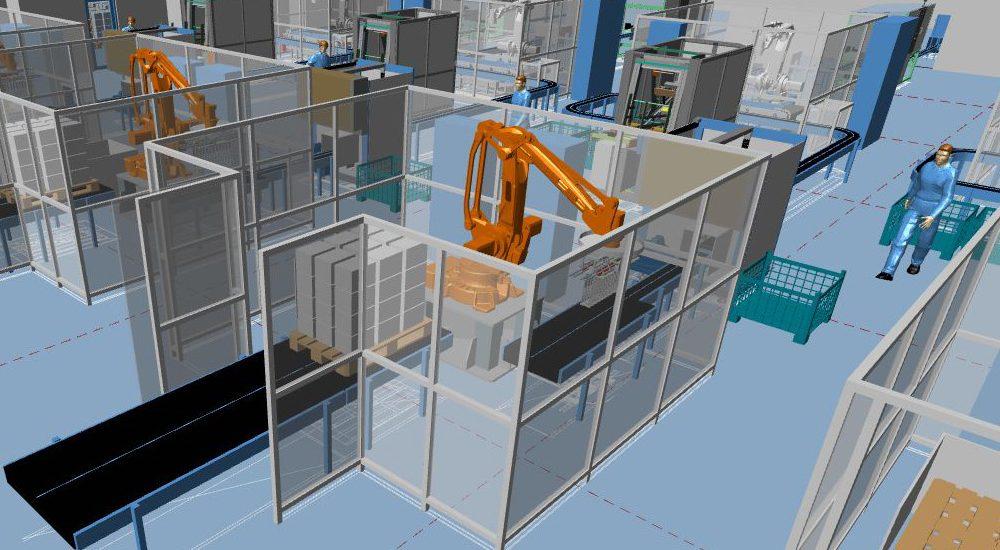 Software 3D per la progettazione di impianti e layout di fabbrica: MPDS4
