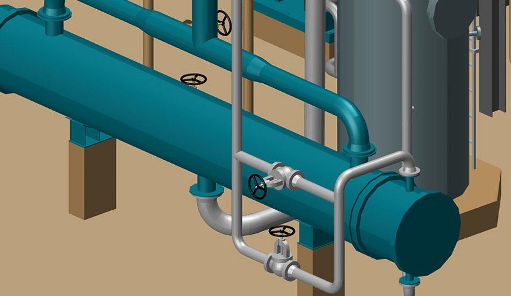 Software 3D per progettazione di impianti; facile da implementare ed amministrare.