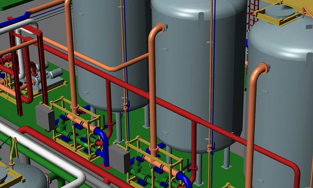 Il Software per il Disegno Impiantistico con Progetti di Piping 3D e Modulo P&ID