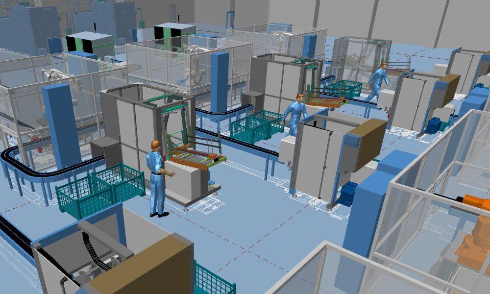 Progettazione integrata di fabbrica 2D/3D con MPDS4