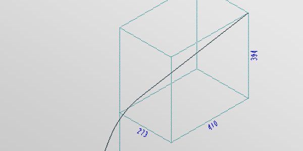 Isometrie-Rohrleitung-nicht-orthogonal