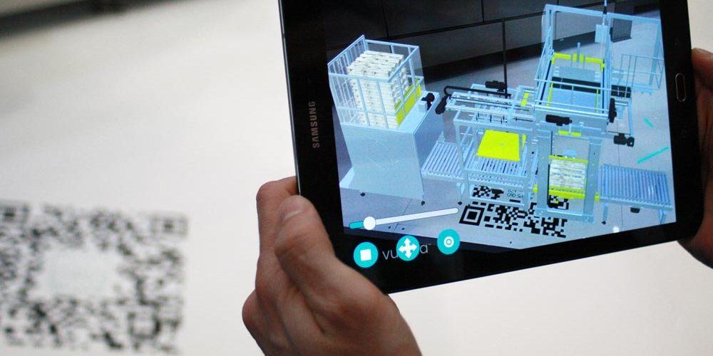 Ingrandire digitalmente lo stand fieristico con AR e VR