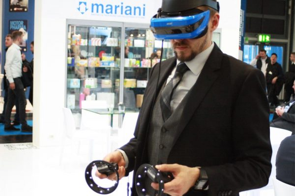 Neue Technologien erobern den Messestand