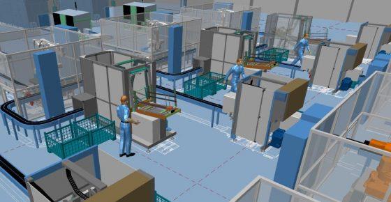 Inserire macchinari in un edificio esistente con MPDS4