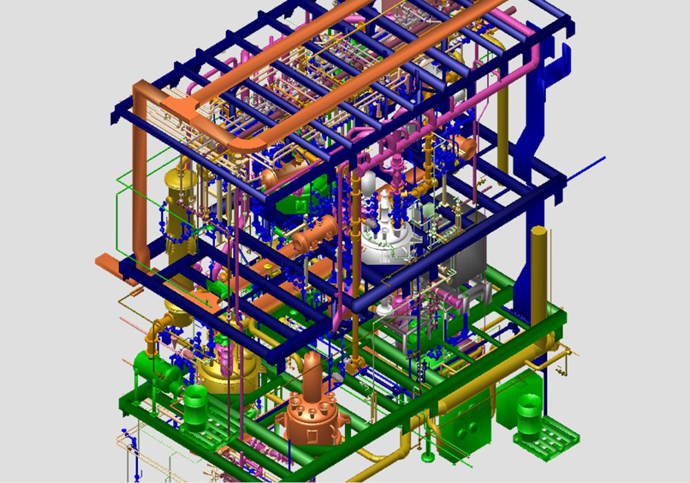 Il produttore di impianti WSP CEL crea impianti di processo 3D con MPDS4