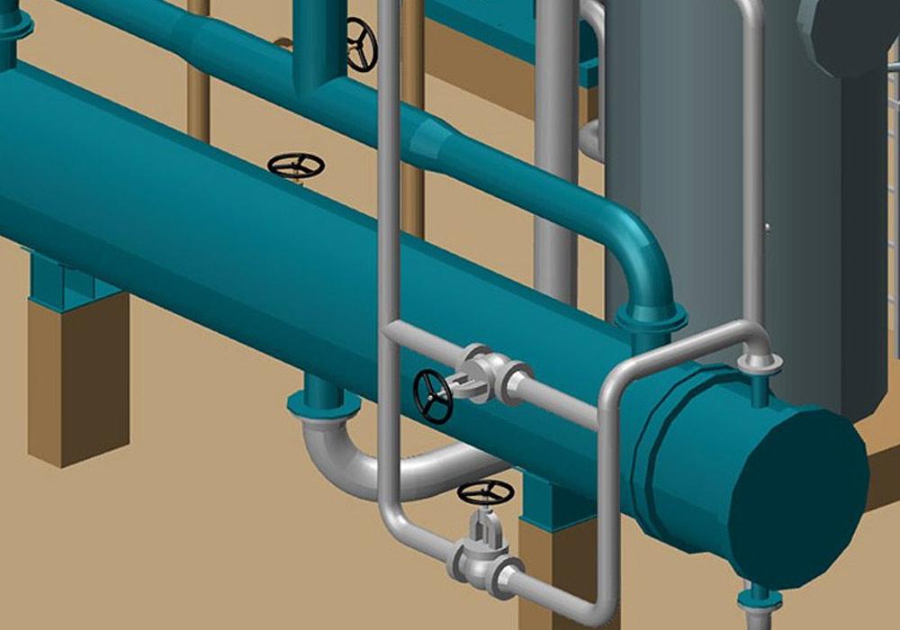 MPDS4 consente cambiamenti rapidi nella costruzione di piping 3D