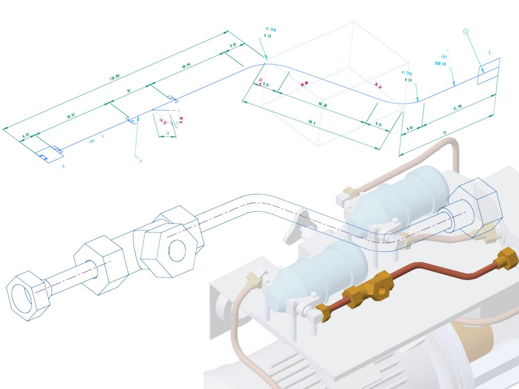 Isometrie für PTC Creo Piping