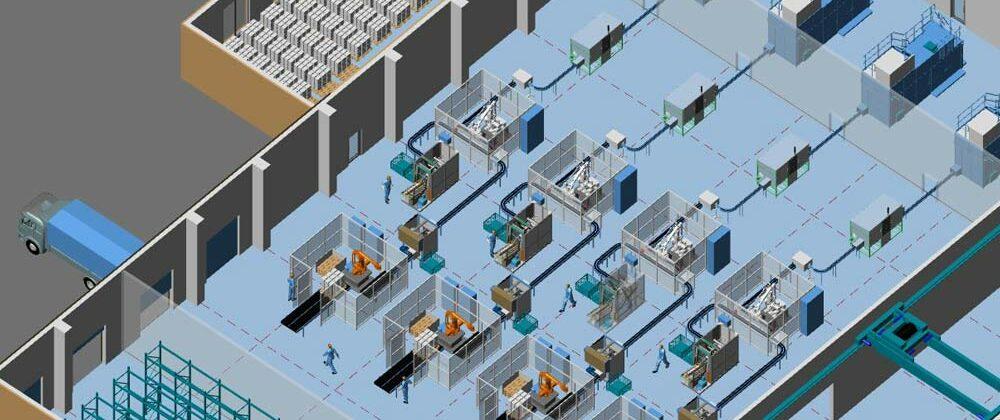 Layout di fabbrica Errore n. 1: Non utilizzare la progettazione in 3D