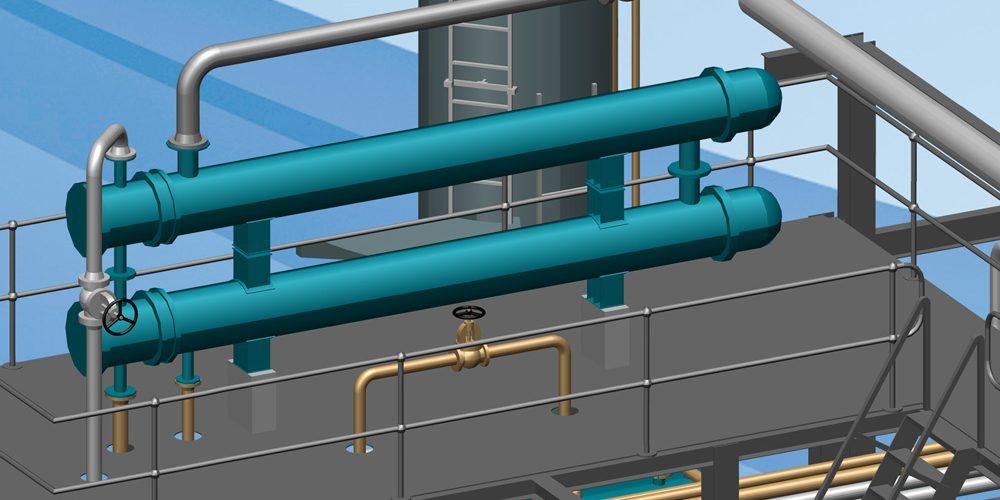 Software 3D per la progettazione professionale di impianti e fabbriche