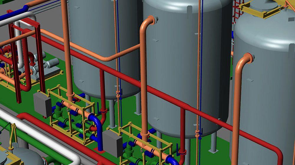Software progettazione impianti 3d mpds4 plant design for Software per disegno 3d