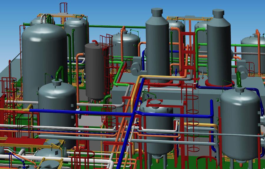 Software progettazione impianti 3d mpds4 plant design for Software di progettazione di layout di costruzione gratuito