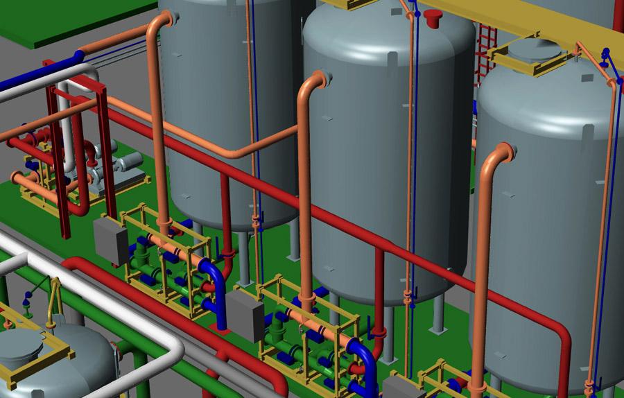 Software progettazione impianti 3d mpds4 plant design for Progetto software