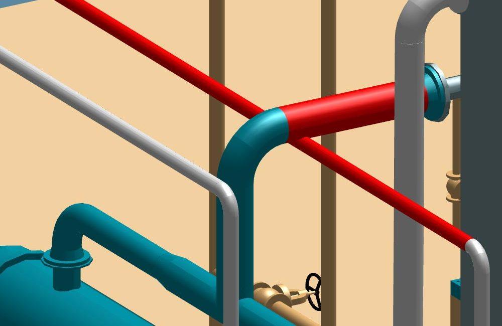 Automatische Isometrieerzeugung aus 3D-Rohrleitungsdaten