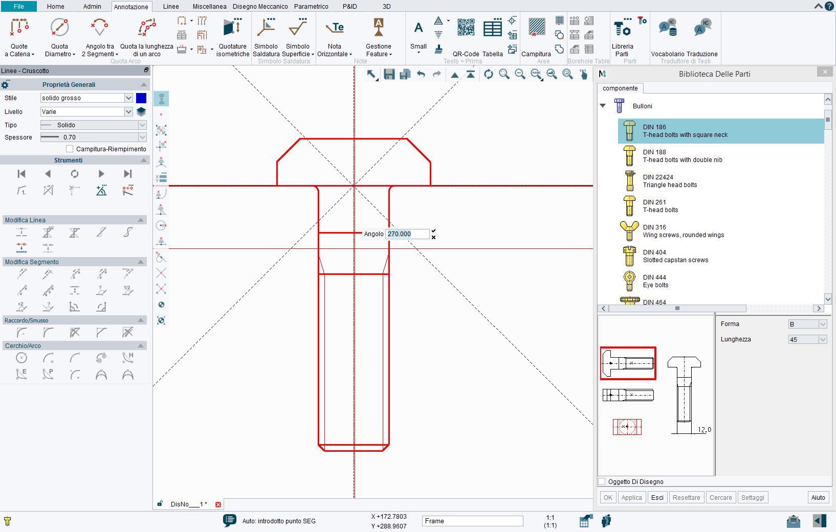 Biblioteca di parti CAD standard per rendere più veloce la progettazione