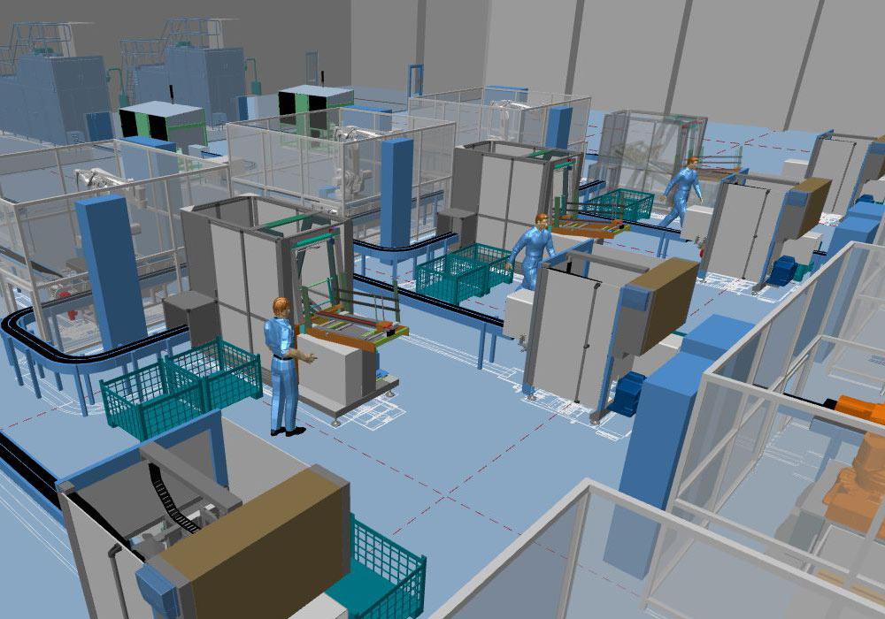 I sistemi per la progettazione di fabbrica come MPDS4 sono oggi un ulteriore passo avanti
