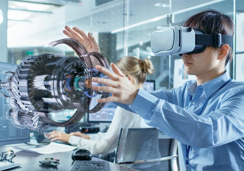 Spostare facilmente le singole parti del modello nella realtà virtuale
