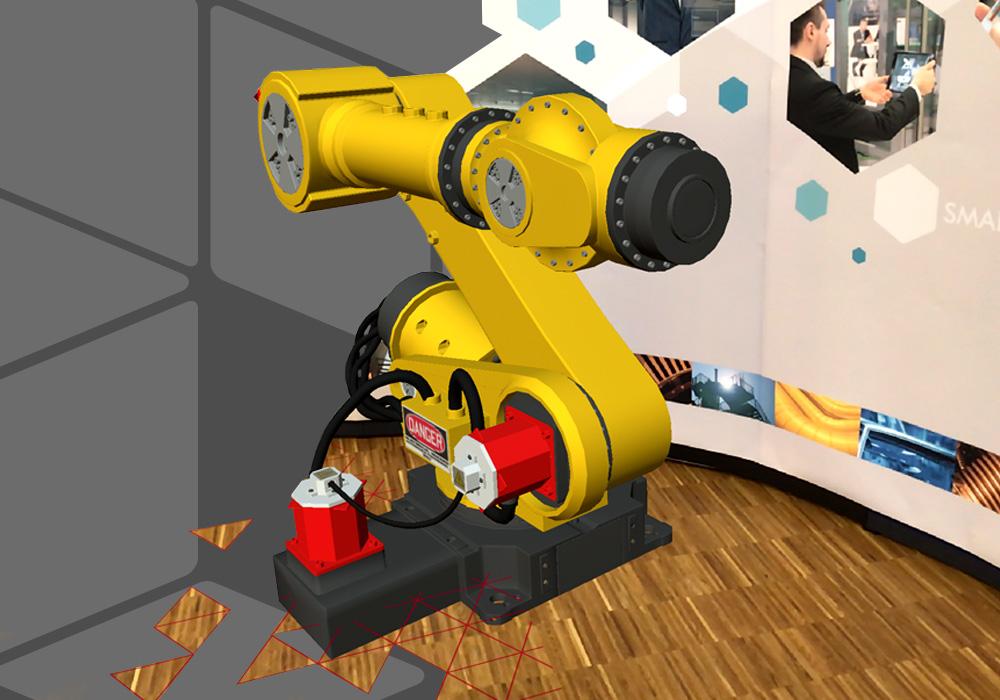 gratuita applicazione per realtà aumentata di CAD Schroer