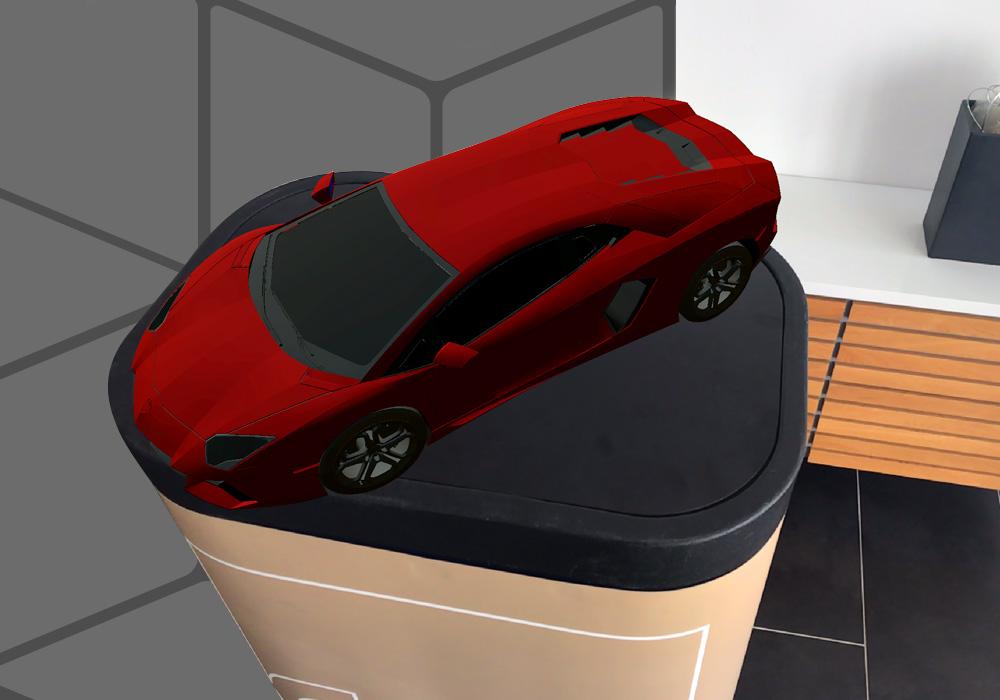 Il nuovo visore per la realtà aumentata i4 AUGMENTED REVIEW permette di integrare i modelli 3D nello spazio reale