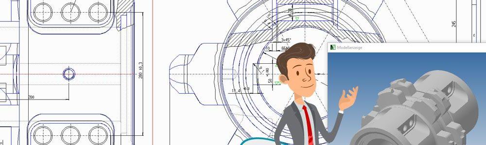 M4 DRAFTING assicura la standardizzazione nelle aziende