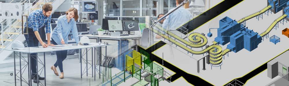 Più funzionalità per il progettista di fabbrica in M4 PLANT