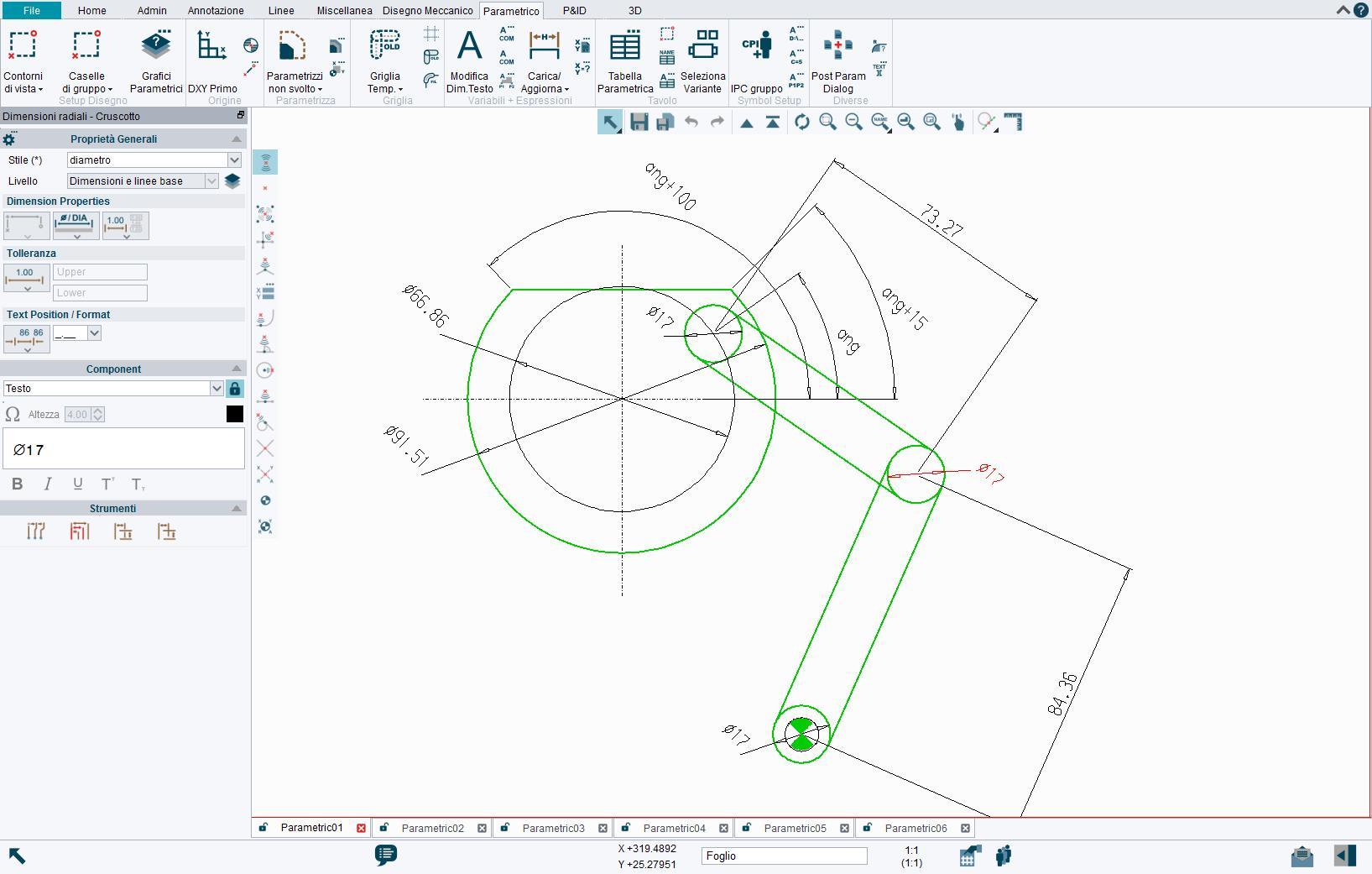 Parametrico e Automazione dei Progetti