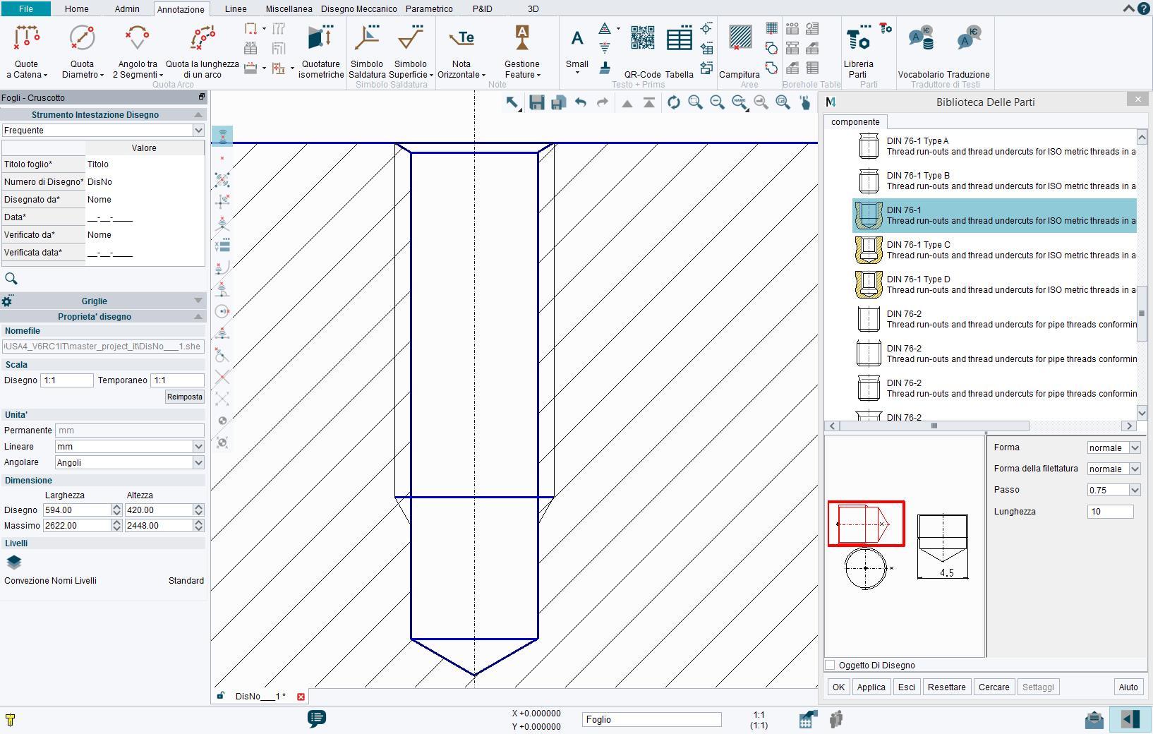 Libreria di parti standard CAD – MEDParts