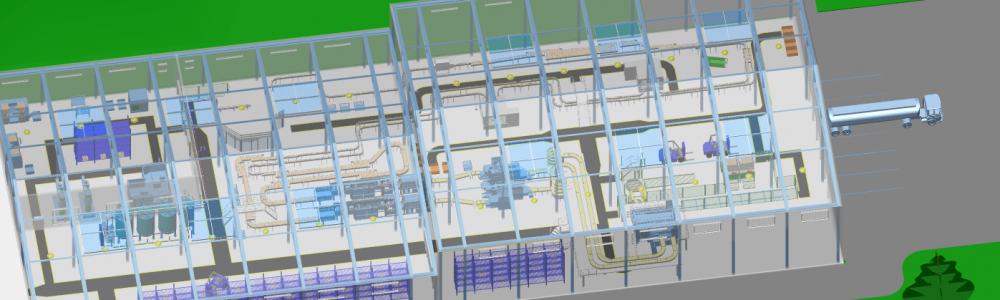 M4 FACTORY - Fabriken und Layouts jeder Größe in 2D und 3D planen