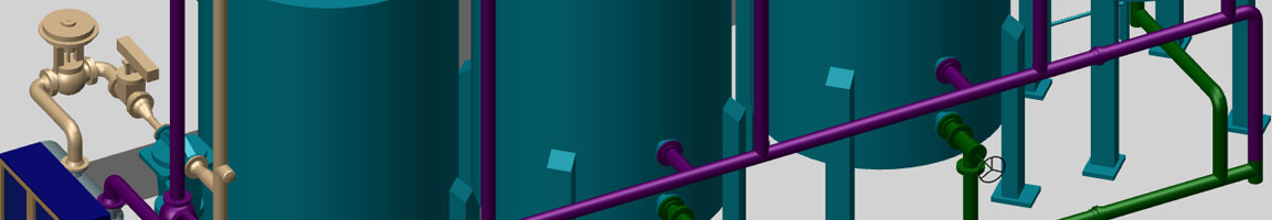 Pacchetto piping per la progettazione integrata: M4 PLANT